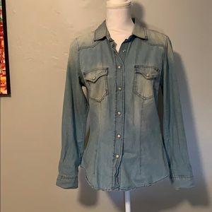 100% Cotton Jean Shirt